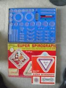 Vintage 1969 Kenner Super Spirograph No 2400 In Box Near Complete No Pens