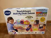 Vtech Touch And Learn Activity Desk Deluxe, Interactive Learning System Pink