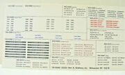 Passenger Car And Name Decals 1/87 Scale For Walthers Streamline Cars From 2001