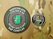 Cia, Cyber Security, Black Ops, Behind The Green Door ,challenge Coin And Patch