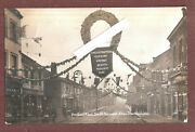 Rp London South Norwood Portland Road Christmas Xmas Show Week 1909 Used + Stamp