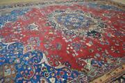 9and0398 X 12and0399 Magnificent Semi Antique Hand Knotted Wool Area Rug 10 X 13 Carpet