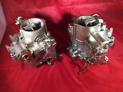 Pair Of 1967 Corvair Carburetors - Ethanol Proof - 100 Off For Your Cores.