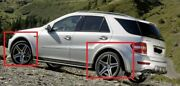 Mercedes Ml W164 Amg Look Fender Flares / Wheel Arch Extensions Set For 4 Wheels