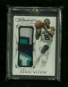 Kemba Walker 2014-15 Flawless Dual Patches Black 1/1 Hornets Sp Celtics Star