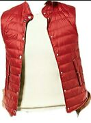 Brunello Cucinelli Menand039s Down Puff Vest Made In Italy Size M