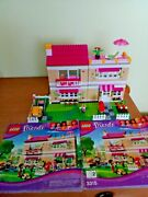 Lego Friends Olivia's House 3315 Set With 2 Instruction Books And Lots Of Extra Pc