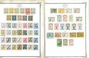 Azores 1868-1931 Mandu Hinged On Scott Specialty Pages