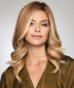 Gilded 12 By Raquel Welch Human Hair Topper Hairpiece All Colors Mono New