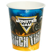Monster Jam Birthday Party Supplies 48 Pack Paper Cups