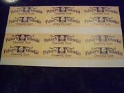 Pulver Yellow Kid Stick Gum Reprint Sheet Of 6 Wrappers