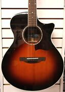 Ibanez® Made-in-japan Ae800as Acoustic Electric Guitar Antique Sunburst W/ Case