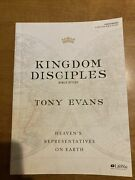 Kingdom Disciples - Bible Study Book By Evans, Tony Book The Fast Free Shipping