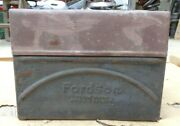 1920and039s Fordson Tractor Coil Box W/ Lid Original