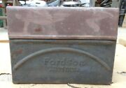 1920's Fordson Tractor Coil Box W/ Lid Original