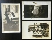 Old Fashioned Baby Buggies - Strollers - Vintage Photo Postcards 3