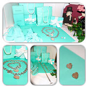 Gorgeous- And Co. Toggle Bracelet Necklace And Heart Earring Set/lot