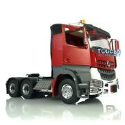Lesu 1/14 Rc 66 Metal Chassis Warning Light Hercules Painted Cab Tractor Truck