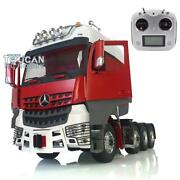 Hercules Cabin Actros Lesu Rc 1/14 Metal Chassis Rack Tractor Truck Radio Sound