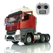 1/14 Lesu Rc 66 Metal Chassis Radio Hercules Painted Cabin Tractor Truck Sound