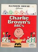 Charlie Brown's Abc's Random House Software Commodore 64