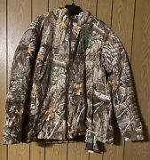 New Under Armour Timber Hunting Jacket Realtree Edge Camo Size 2xl 1316734-991