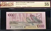 1000 Canada Bank Of Canada - Lovely Large Denomination Banknote