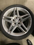 2011 Mercedes-benz E Class 350 W219 Wheels Rims W/ Tires Set Of 4 18and039and039 Oem