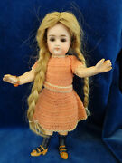 Adorable Antique Doll Closed Mouth