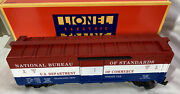 Lionel 6-52098 And03996 Ttos Convention U.s. Dept. Of Commerce Boxcar New In Box