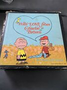 With Love From Charlie Brown 6 Books 1st Editions Slip Cased Charles M Schulz