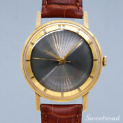Orient Royal 1950s Leather Belt Manual Winding Stainless Men's Watch [b1025]