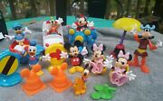 Huge Lot Mickey Mouse Clubhouse Vehicles Playset Figures Pluto Donald Minnie Wow