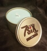 Marshmallow Fireside Vanilla Chocolate Smoky Woodsy Scented Soy Candle