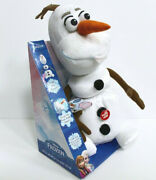 Disney Frozen Pull Apart And Talkinand039 Olaf Plush 14