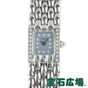 Chaumet Classic Lady Ladies Blue Shell Dial Qz Ss From Japan [e1026]