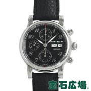 Star Chronograph 106467 Menand039s Black Ss At From Japan [e1026]