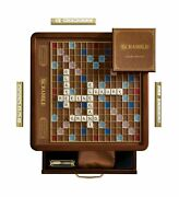 Winning Solutions Company Scrabble Rotating Game Board Luxury Edition Quality