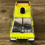 Taxi Tin Plate Toy Car 10 Cm Made In Russia Vintage From Japan Unused Dead Stock