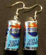 New From Vintage Mini Pepsi Soda Cans Fun Food Charms Costume Jewelry