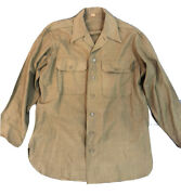 Authentic Us Ww2 Long Sleeve Army Shirt