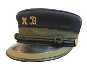 Rare Antique Conductor /train Engineer Hat Named Lirr President Long Island Rr