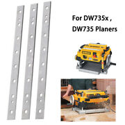 Tct Planer Blades 13-inch For Dw735x Dw735 Planers Replace Dw7352 -3pcs