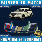 New Painted To Match - Front Bumper Replacement For 2014-2016 Acura Mdx 14-16