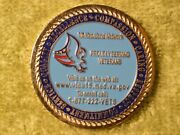 Department Of Veterans Affairs Medal/challenge Coin 44 Mm
