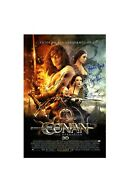 Jason Momoa And Cast Autographed Conan The Barbarian 27x40 Movie Poster Framed
