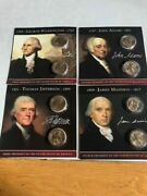 The Presidential Collection Us Dollar Series Cards And Coins 1 To 44 Complete