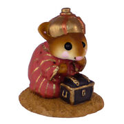 Wee Forest Folk Wise Man With Turban, Wff M-121a, Nativity Mouse