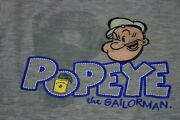 Cute Vintage Popeye Boys Size 4t 2 Piece Outfit