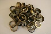 60 Small Mouth Gold Canning Jar Rings/bands For Crafts